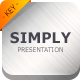 Simply Keynote Template Presentation - GraphicRiver Item for Sale