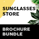 Sunglasses Store Print Bundle - GraphicRiver Item for Sale