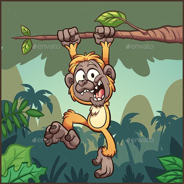 Gibbon Monkey