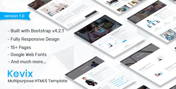 Responsive Multipurpose Template by Zoyo-Themes