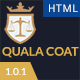 Quala Coat - Law Firm & Lawyers HTML5 Template - ThemeForest Item for Sale