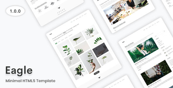 Minimal HTML5 Template by Themesdesign-Studio