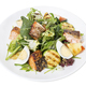 Grilled salmon salad with vegetables and eggs. - PhotoDune Item for Sale