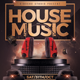 House Music Flyer Promotional - GraphicRiver Item for Sale