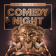 Comedy Night Promotional Flyer - GraphicRiver Item for Sale