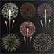 Set of Isolated Fireworks - GraphicRiver Item for Sale