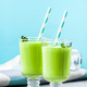 Refreshing Matcha green tea milk shake - PhotoDune Item for Sale