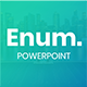 Enum Powerpoint Template - GraphicRiver Item for Sale
