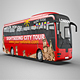 Sightseeing Tour Bus Mock-Up - VideoHive Item for Sale