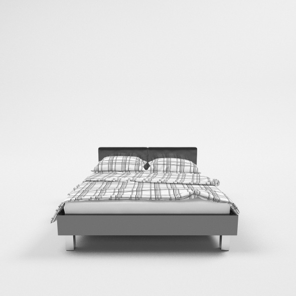 Bed C4d Vray