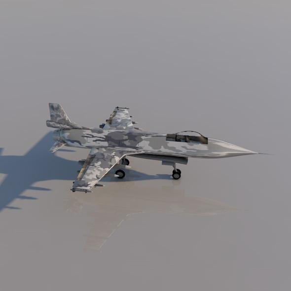 Plane F16