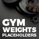 Gym Weights Placeholders - VideoHive Item for Sale