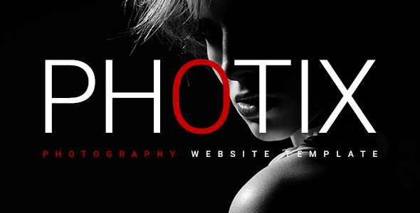 Photix - Responsive Photography Website Template