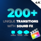 Unique Transitions - VideoHive Item for Sale