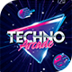 Techno Arcade New Flyer Template - GraphicRiver Item for Sale
