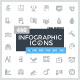 460 Infographic Icons. Collection 1 - GraphicRiver Item for Sale