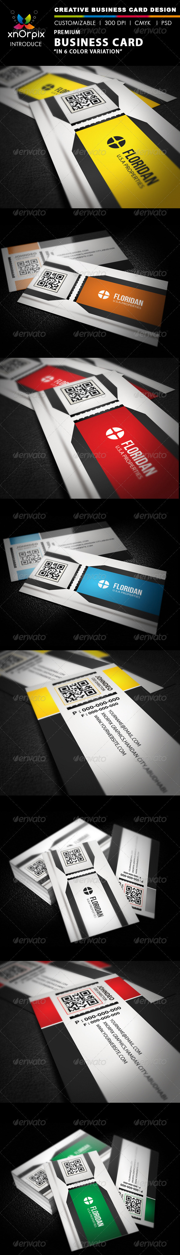 Premium Business Card - Business Cards Print Templates