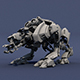 Quadruped Robot Animal - 3DOcean Item for Sale