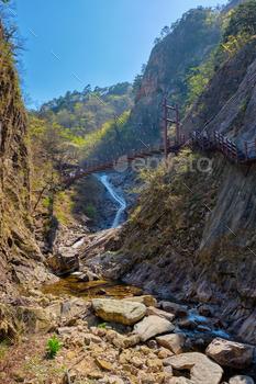 Biryong Falls watrefall