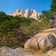 Ulsanbawi rock in Seoraksan National Park, South Korea - PhotoDune Item for Sale