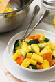 Fruit salad with pineapple, cucumber and tomato - PhotoDune Item for Sale