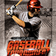 Baseball Tournament Flyer - GraphicRiver Item for Sale