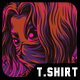 Red Girl T-Shirt Design - GraphicRiver Item for Sale
