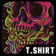 Skull Kids T-Shirt Design - GraphicRiver Item for Sale