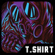 Dark Myth T-Shirt Design - GraphicRiver Item for Sale