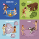 Stone Age Concept Icons Set - GraphicRiver Item for Sale