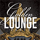 Golden Lounge Party Flyer - GraphicRiver Item for Sale