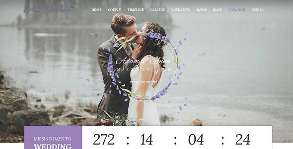 Wedding – Ultimate Wedding Joomla Responsive Template