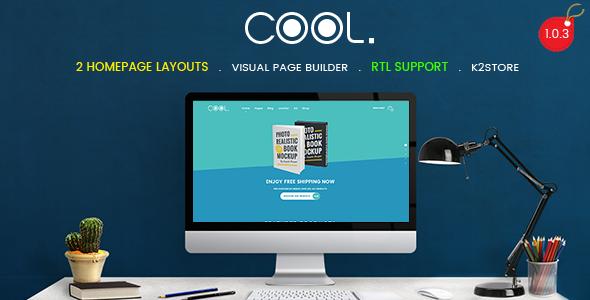 TheCool - Drag and Drop Multipurpose eCommerce Joomla Template - Retail Joomla
