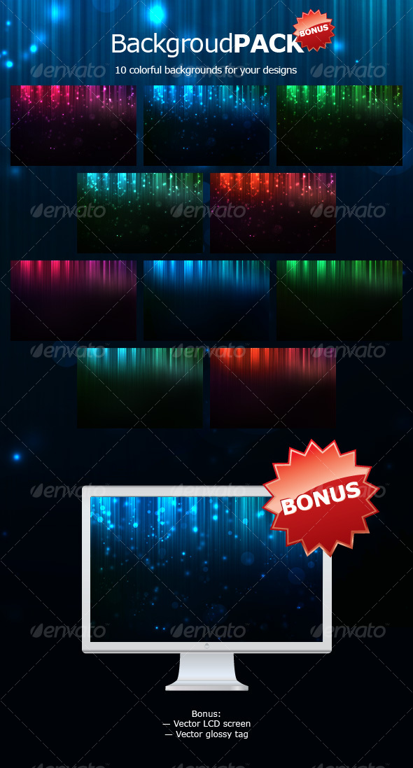 Web Background Pack  - Backgrounds Graphics