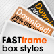 FAST frame Photoshop styles - GraphicRiver Item for Sale