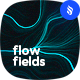 Digital Perlin Flow Fields Photoshop Brushes in a Tech Futuristic Style - GraphicRiver Item for Sale