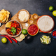Concept of Mexican food, flat lay - PhotoDune Item for Sale