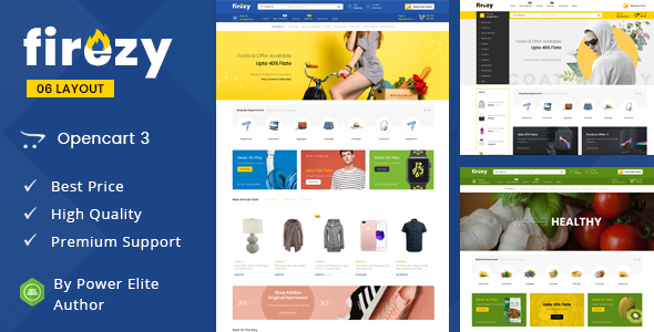 Opencart 3 Theme Template and Themes