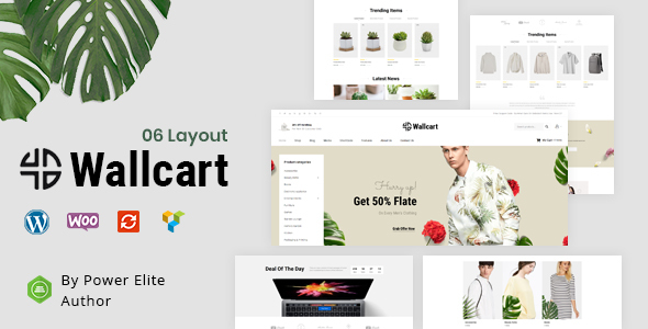 Wallcart - Multipurpose WooCommerce Theme