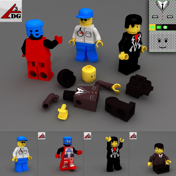 PC gaming LEGO - 3DOcean Item for Sale