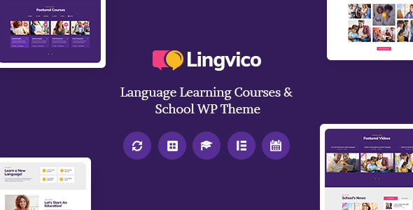Download Lingvico | Language Center & Training Courses WordPress Theme nulled 01 Lingvico