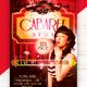 Cabaret Show Flyer Template - GraphicRiver Item for Sale