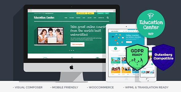 Education Center | Training Courses WordPress Theme - Education WordPress
