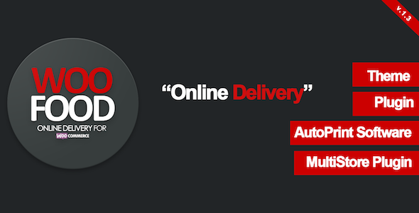 WooFood - Online Delivery for WooCommerce & Automatic Order Printing - CodeCanyon Item for Sale