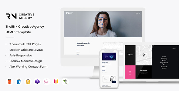TheRN - Creative Agency HTML5 Template