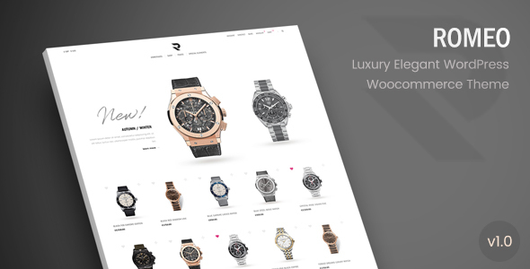 Romeo - Luxury Modern WooCommerce WordPress Theme - WooCommerce eCommerce