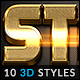 10 3D Styles vol. 17 - GraphicRiver Item for Sale