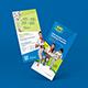 Kids Martial Art Training Rack Card   DL Flyer - GraphicRiver Item for Sale