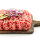 raw minced meat and spices - PhotoDune Item for Sale
