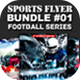 Sports Flyer Bundle 01 Football Series - GraphicRiver Item for Sale